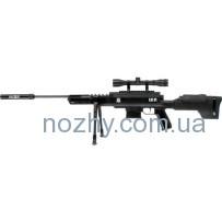 Винтовка пневматическая Norica Black OPS Sniper + прицел 4×32 + сошки