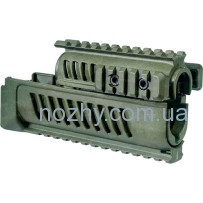 Цевье FAB Defense AK-47 полимерное для АК47/74. Цвет — оливковый
