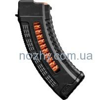 Магазин FAB Defense Ultimag AK 30R Black кал. 7,62х39 с окном. Цвет — черный