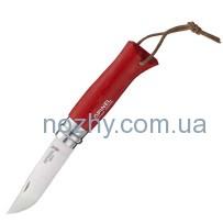 Нож Opinel №8 «Adventurer» красный