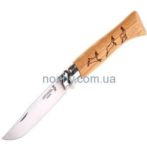 """фото Нож Opinel №8 """"Chamois"""" цена интернет магазин"""