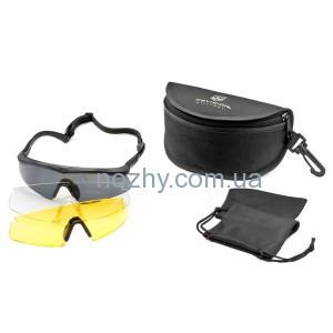фото Очки REVISION Sawfly Dlx Small оправа - черная цена интернет магазин