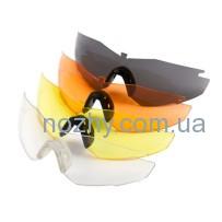 Линзы REVISION StingerHawk BNP стандарт матовокрасные