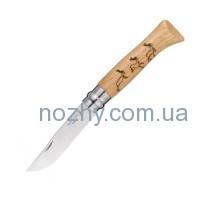 "Нож Opinel №8 Animalia ""Олень"""