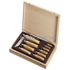 фото Набор ножей (10 шт.) Opinel Coffret Collection Inox цена интернет магазин