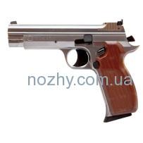 Пистолет пневматический SAS P 210 Silver Blowback! Корпус – металл
