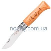 """Нож Opinel №8 Animalia """"Заяц"""""""