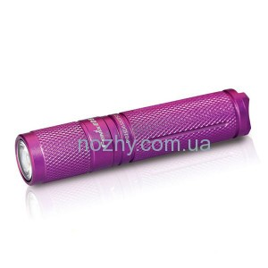 фото Фонарь Fenix E05 (2014 Edition) Cree XP-E2 R3 LED, фиолетовый цена интернет магазин