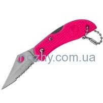 Нож Ganzo G623S, розовый