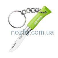 Нож Opinel Keychain №2 Inox. Цвет — салатовый