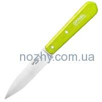 Нож Opinel Paring №112. Цвет — салатовый