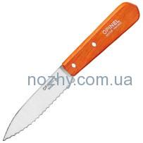 Нож Opinel Serrated №113 Inox. Цвет — оранжевый