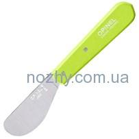Нож Opinel Spreading №117 Inox. Цвет — салатовый