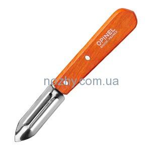фото Нож Opinel Peeler №115 Inox. Цвет - оранжевый цена интернет магазин