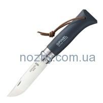 Нож Opinel Trekking №8 Inox. Цвет — серый