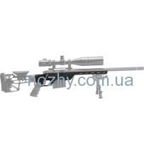 Ложа MDT LSS-XL для карабина Tikka T3 Short Action. Материал — алюминий. Цвет — черный