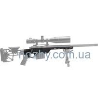 Ложа MDT LSS-XL для карабина Remington 700 Short Action. Материал — алюминий. Цвет — черный