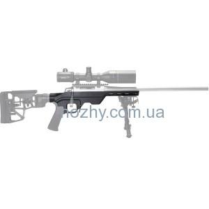 фото Ложа MDT LSS для карабина Remington 700 Short Action. Материал - алюминий. Цвет - черный цена интернет магазин