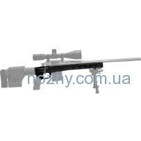 Ложа MDT HS3 для карабина Remington 700 Long Action. Материал — алюминий. Цвет — черный