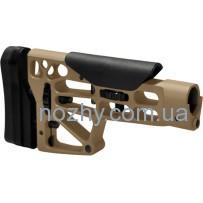 Приклад MDT Skeleton Rifle Stock. Материал — алюминий. Цвет — песочный