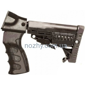 фото Приклад Butt Stock Adaptor with Pistol Grip,Buffer Tube & Collapsible Butt Stock для Remington 870 (Новая) цена интернет магазин