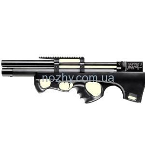 фото Винтовка пневматическая Raptor 3 Compact Plus PCP кал. 4,5 мм. Цвет - черный цена интернет магазин