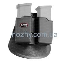 Подсумок Fobus Paddle Holster для двух магазинов Glock 17/19