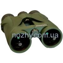 Бинокль Arsenal 10×42 Roof, зелёный, влагонепроницаемый