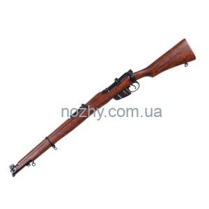 фото Гвинтівка Лі-Енфілда SMLE (макет) Denix 1090 цена интернет магазин