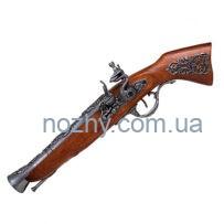 Пістолет кремінний «Мушкетон», сталь, Австрія, XVIII століття (макет) Denix 1231G
