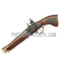 Пістолет кремінний «Мушкетон», латунь, Австрія, XVIII століття (макет) Denix 1231L