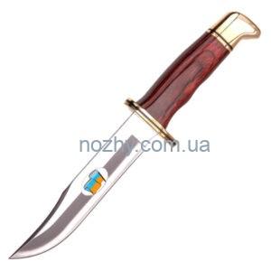 """фото Ніж Buck """"119 Ukrainian"""" 119BRSSP16 дерево цена интернет магазин"""