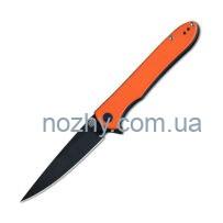 Ніж Artisan Shark Black Blade Orange