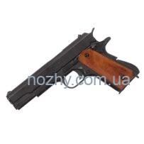 Пістолет Colt M1911A1 .45, темне дерево (США, 1911 г.) (макет) Denix 9312