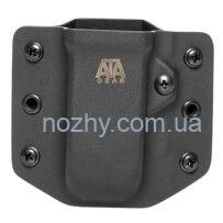 Паучер ATA Gear Ver. 1 під магазин Glock 17/19, чорний