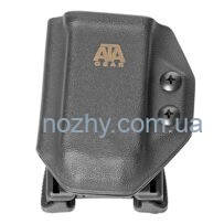 Паучер ATA Gear SPORT під магазин Glock 17/19/34, чорний