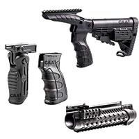Приклады, цевья, пистолетные рукояти